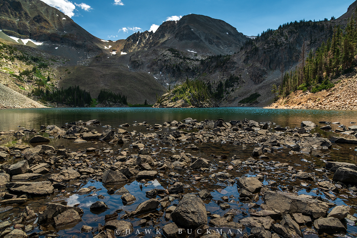 Agnes Lake - Never Summer Mountains of Colorado