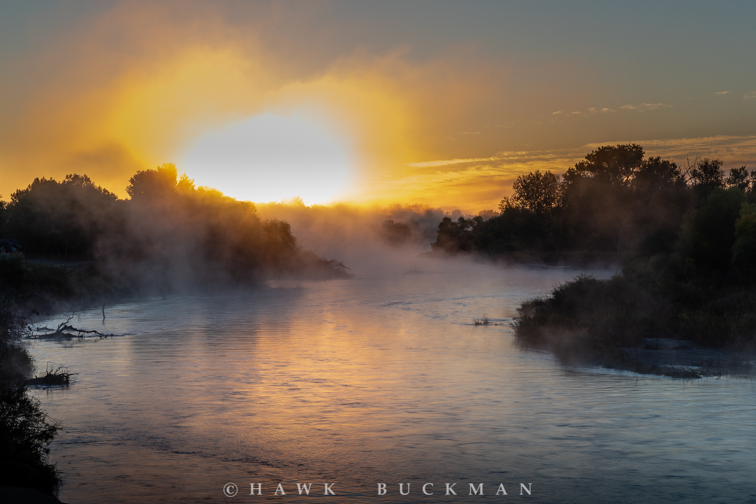 North Platte River Dawn
