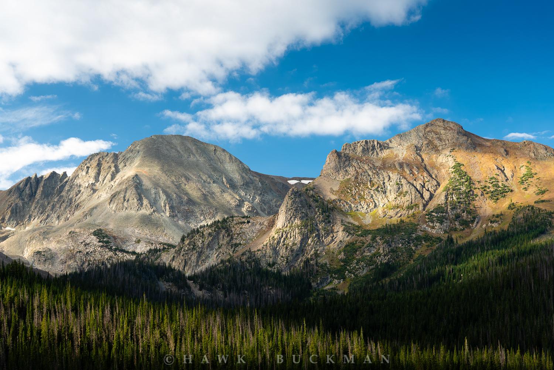 """Static Peak& Mount Richthofen Color - 36""""X24"""""""