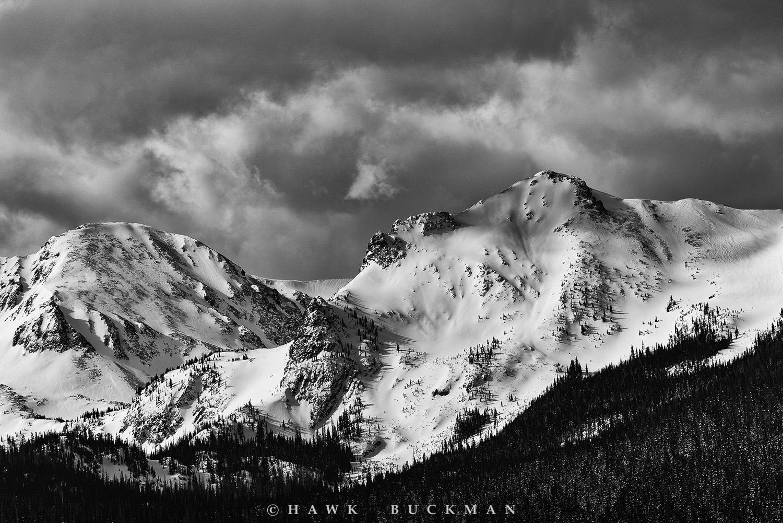 Mount Richthofen and Static Peak
